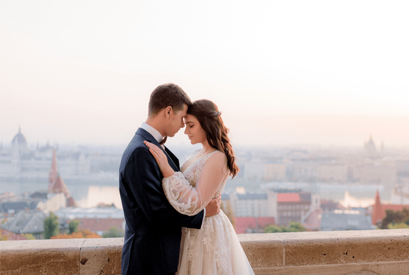 a couple considers borrowing a personal loan for dream wedding without breaking bank